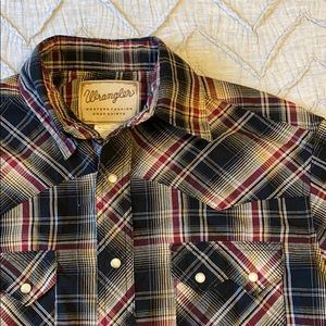 Wrangler Western Button-Up Shirt